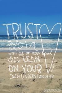 Trusting in…