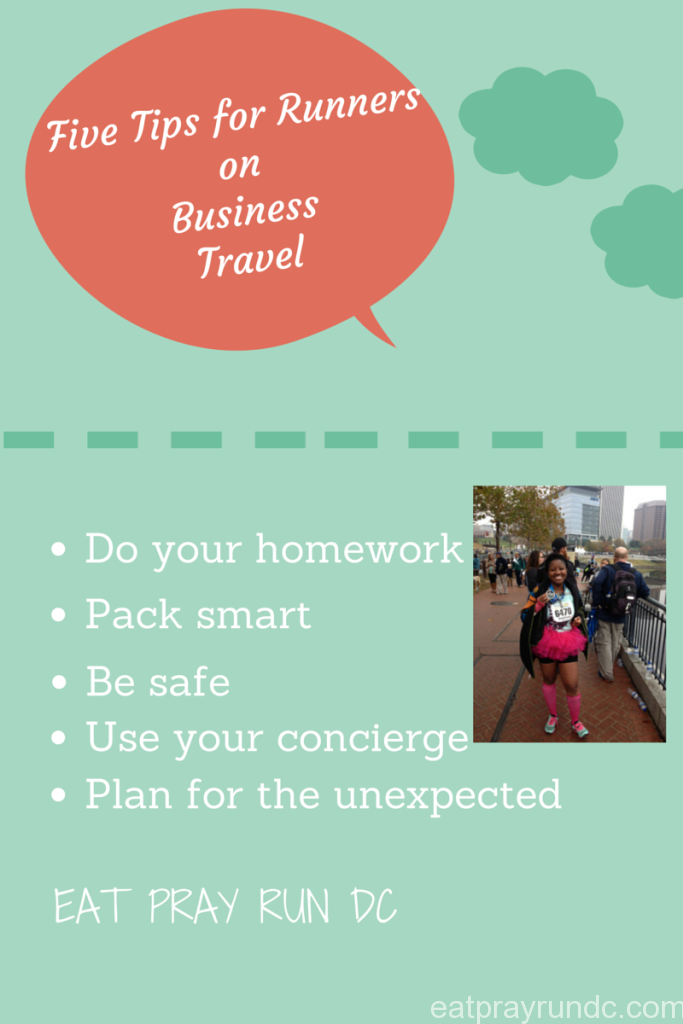 Five Tips for Runners on Business Travel