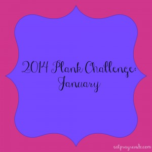 2014 Plank Challenge: January