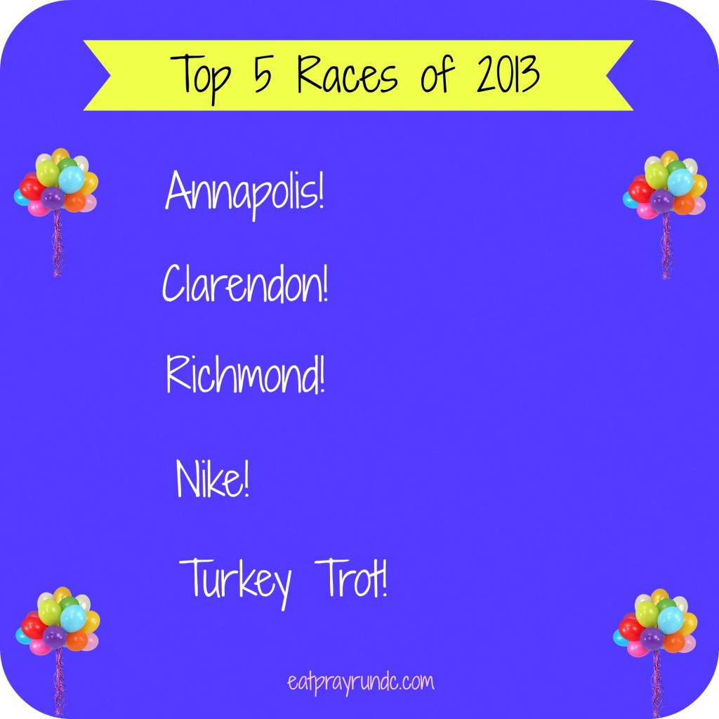 top 5 races