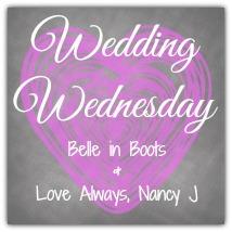 Wedding Wednesday!