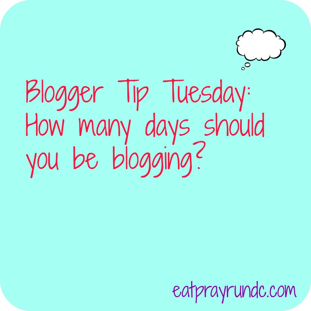 blogger tip tuesday