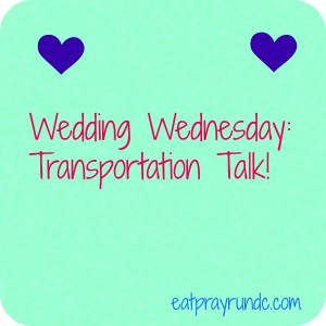 Wedding Wednesday: Transportation Thoughts