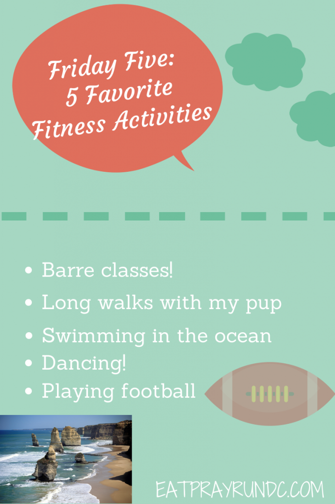 Friday Five Fitness