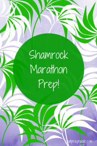 Shamrock Marathon Preparation