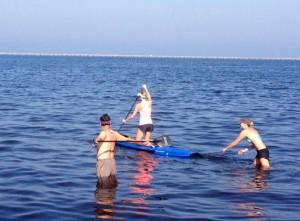 4 Paddleboard Race