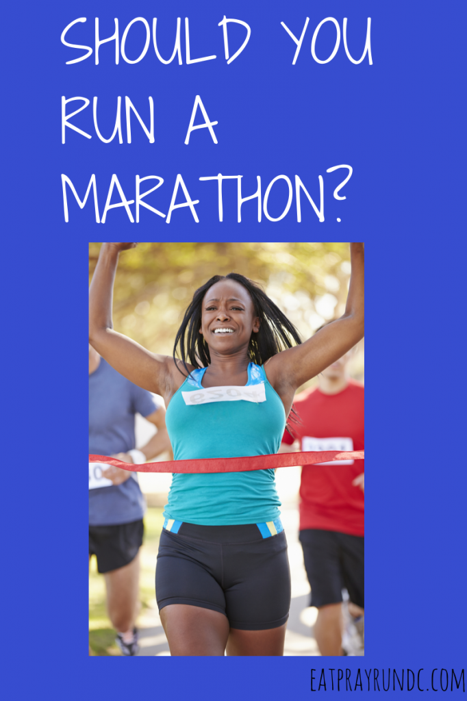 Should you run a marathon