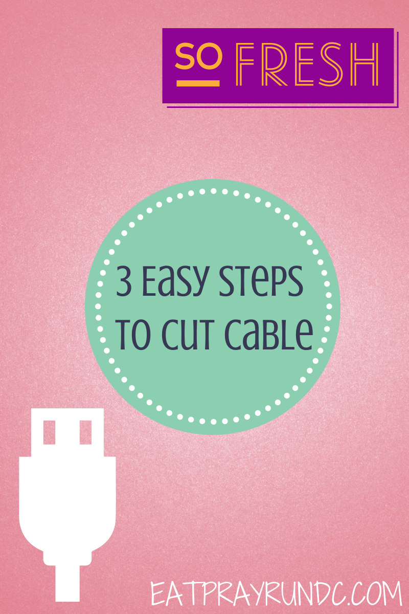 3 Easy Steps to Cut Cable