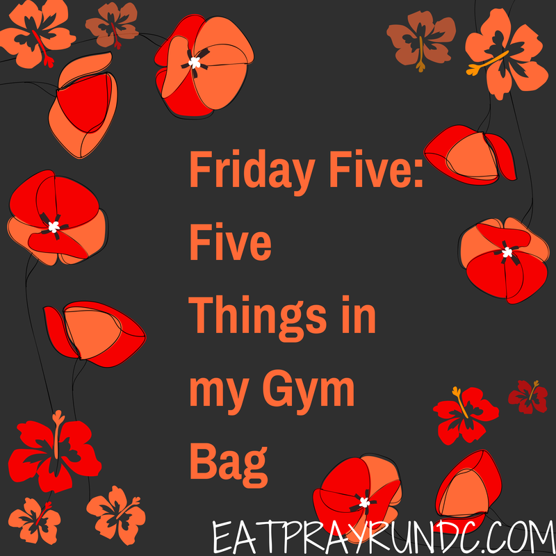 Friday Five- (2)