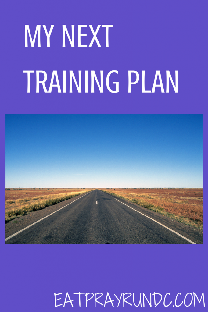 my next training plan