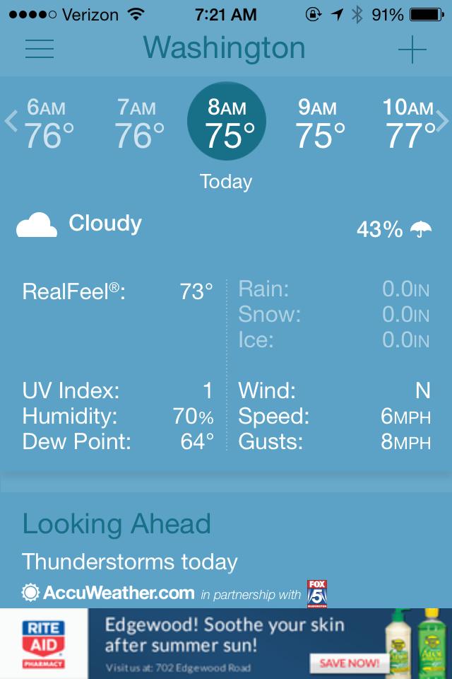 75 degrees plus 70% humidity = a TOUGH run. Yuck.