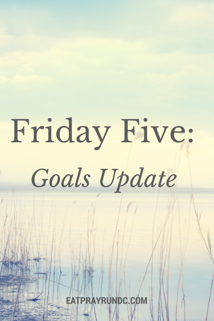 Friday Five- (1)