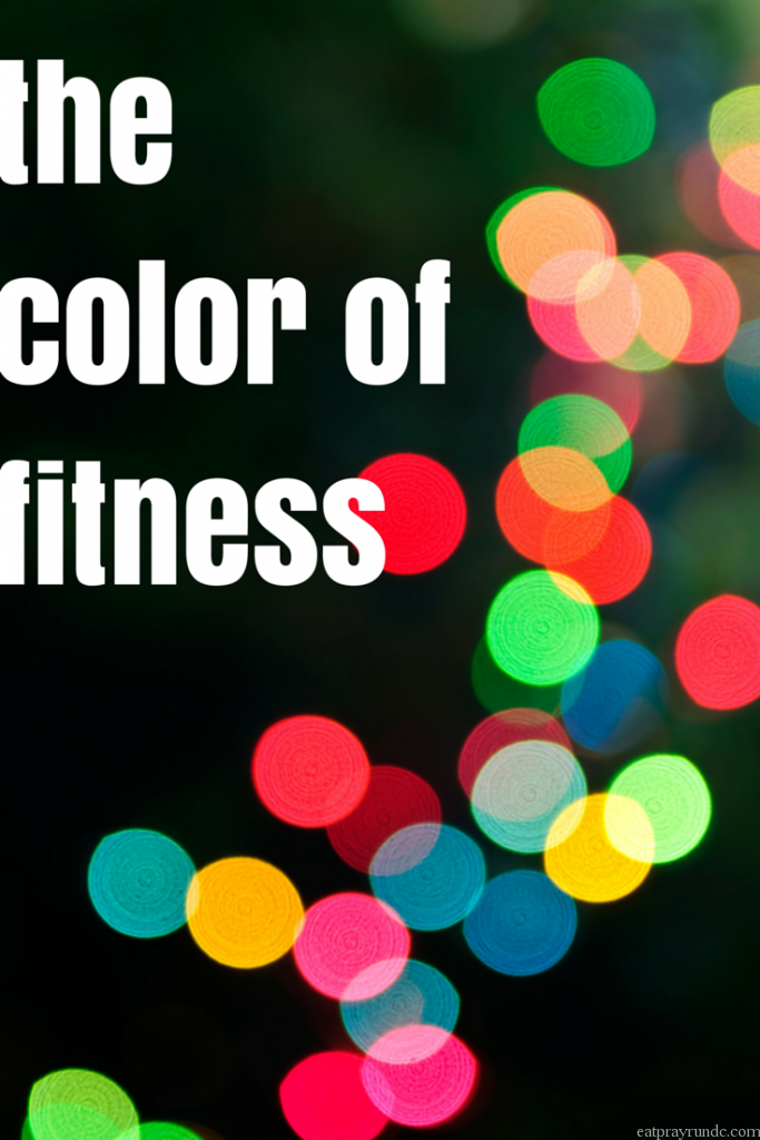 the color of fitness