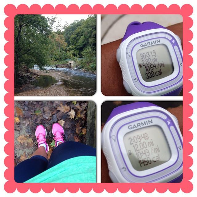 15 mile run