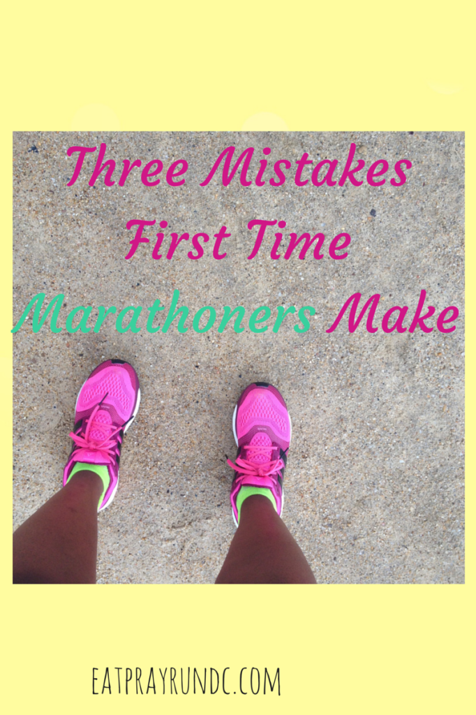3 mistakes first time marathoners make