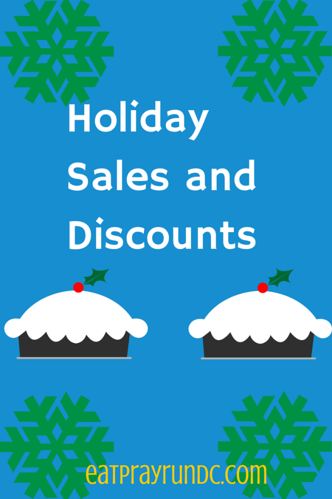 holiday sales and discounts