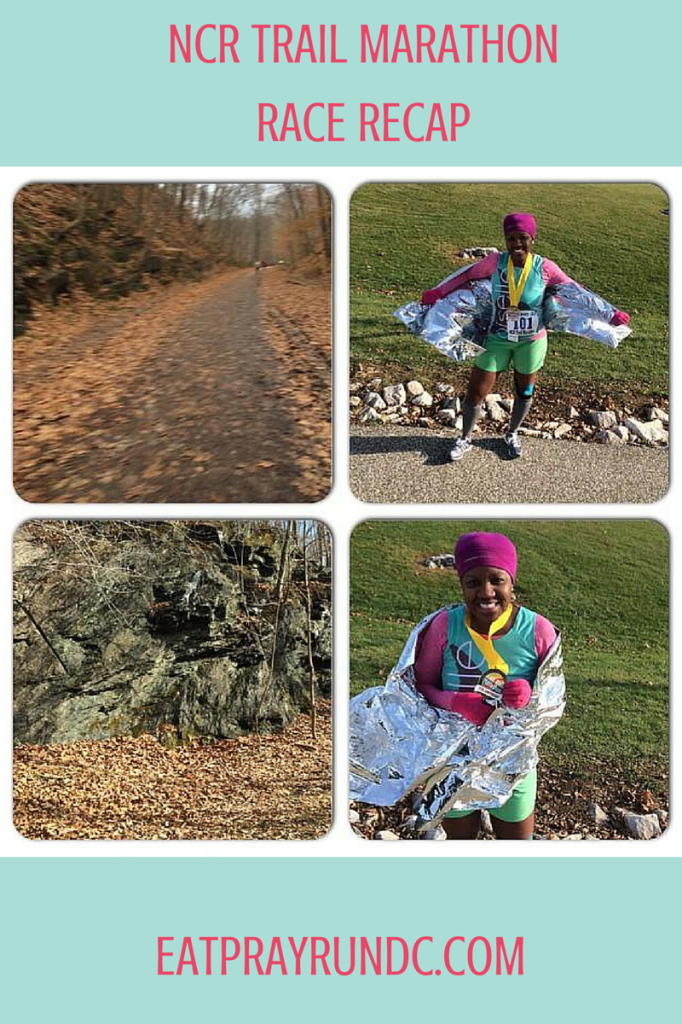 ncr trail marathon race recap