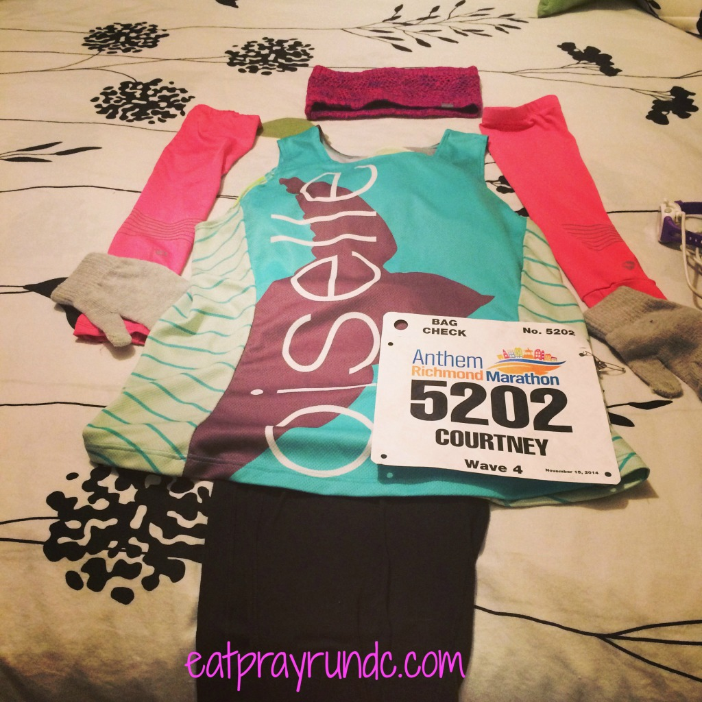 richmond marathon outfit