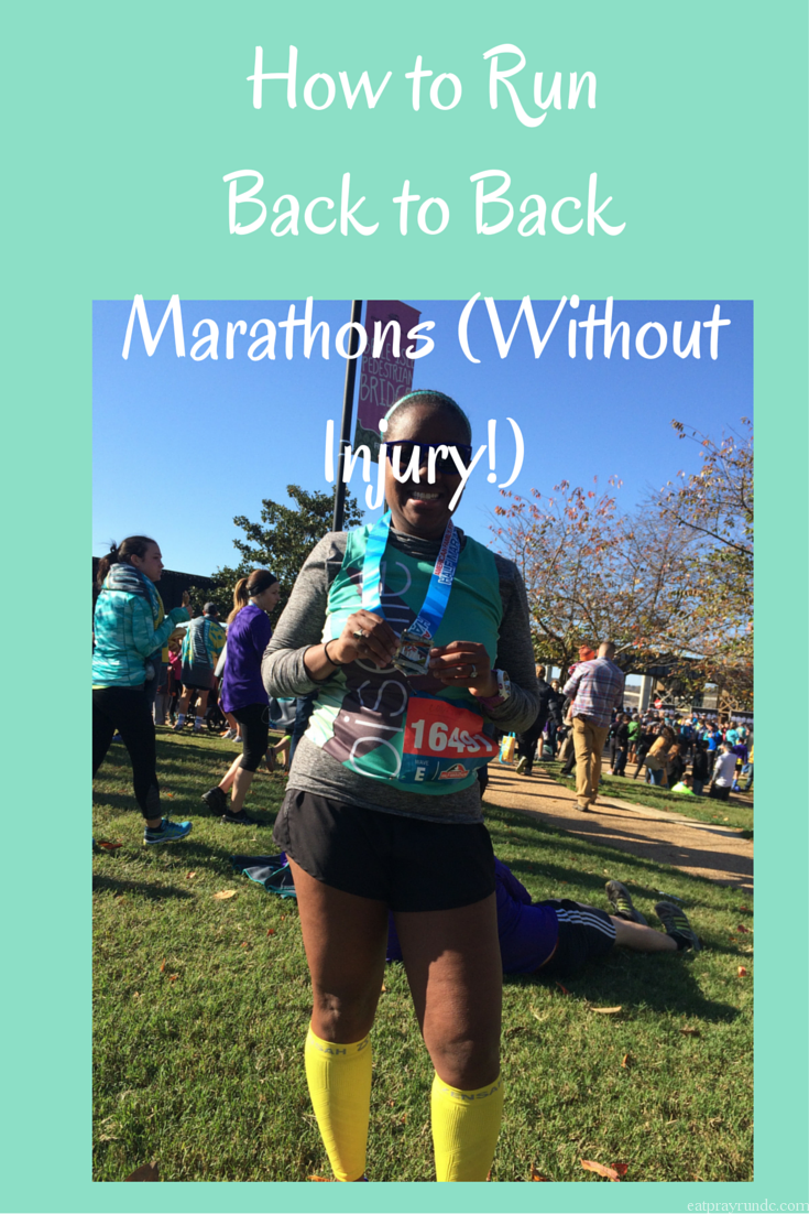 How to Run Back to BackMarathons (Without Injury!)