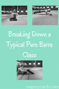 Breaking Down a Typical Pure Barre Class
