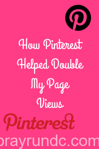How Pinterest helped double my page views