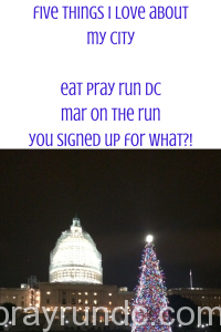Five Things I Love About DC
