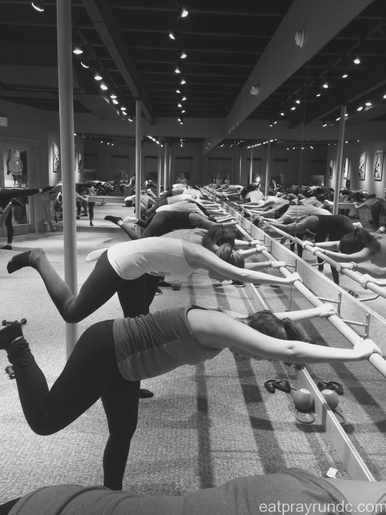 typical pure barre class