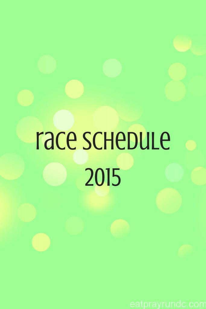race plan 2015