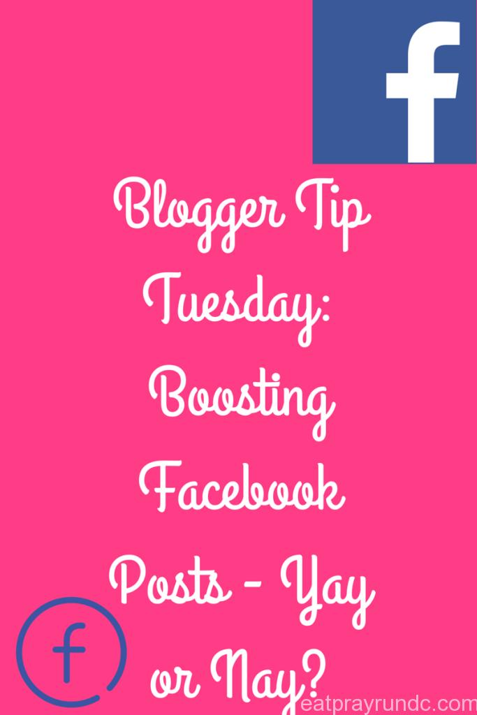 Boosting Facebook Posts: yay or nay