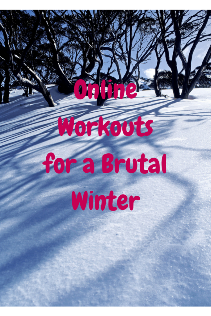 Online Workouts for a Brutal Winter