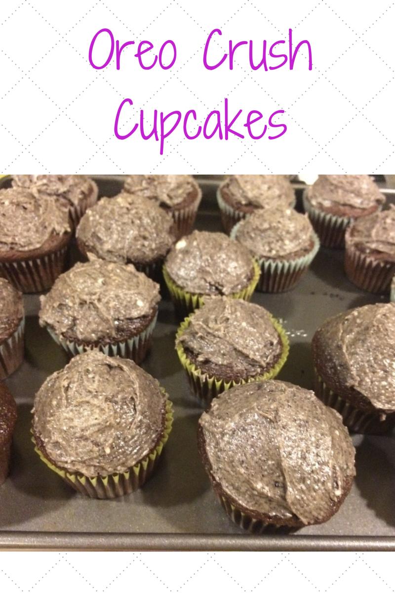 Oreo Crush Cupcakes