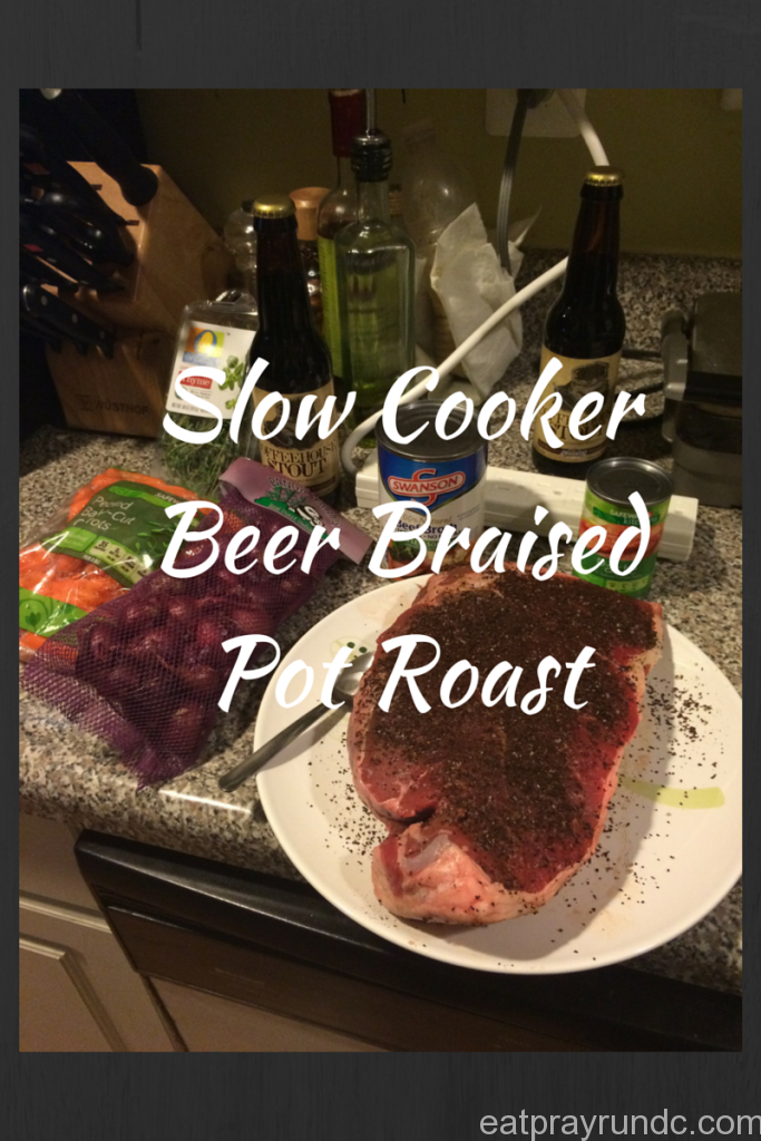 Slow Cooker Beer Braised Pot Roast