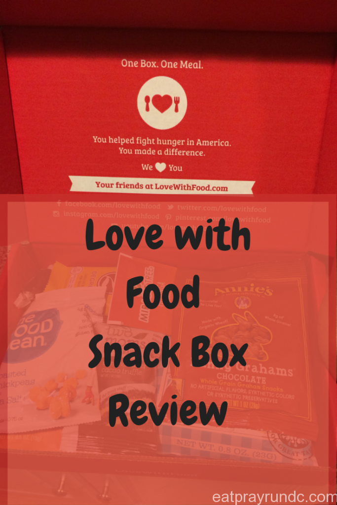 Love with Food Snack Box Review