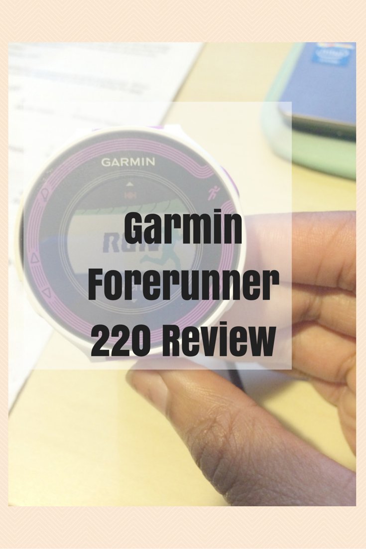 garmin forerunner 220 instructions