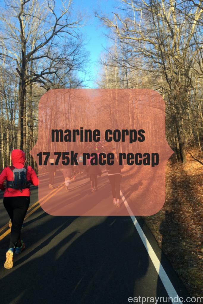 marine corps 17.75k race recap
