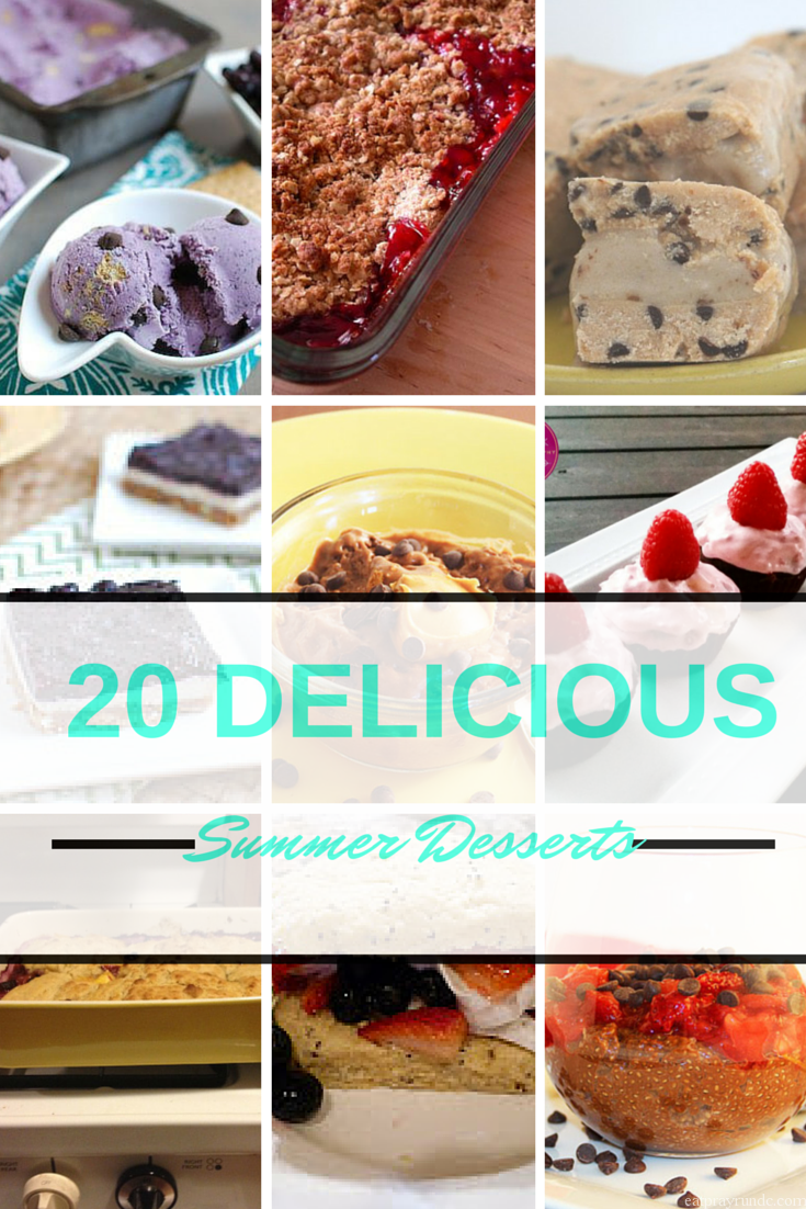 20 Delicious Summer Desserts!