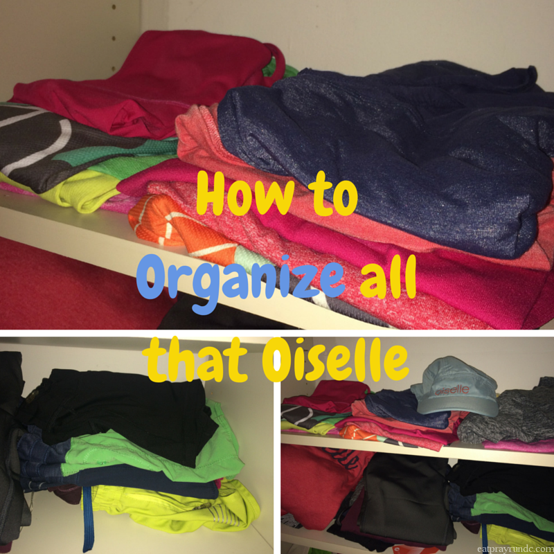 How to Organize all that Oiselle