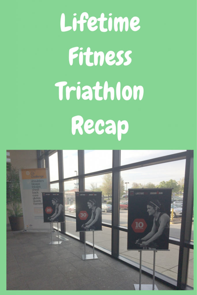 Lifetime Fitness Triathlon Recap