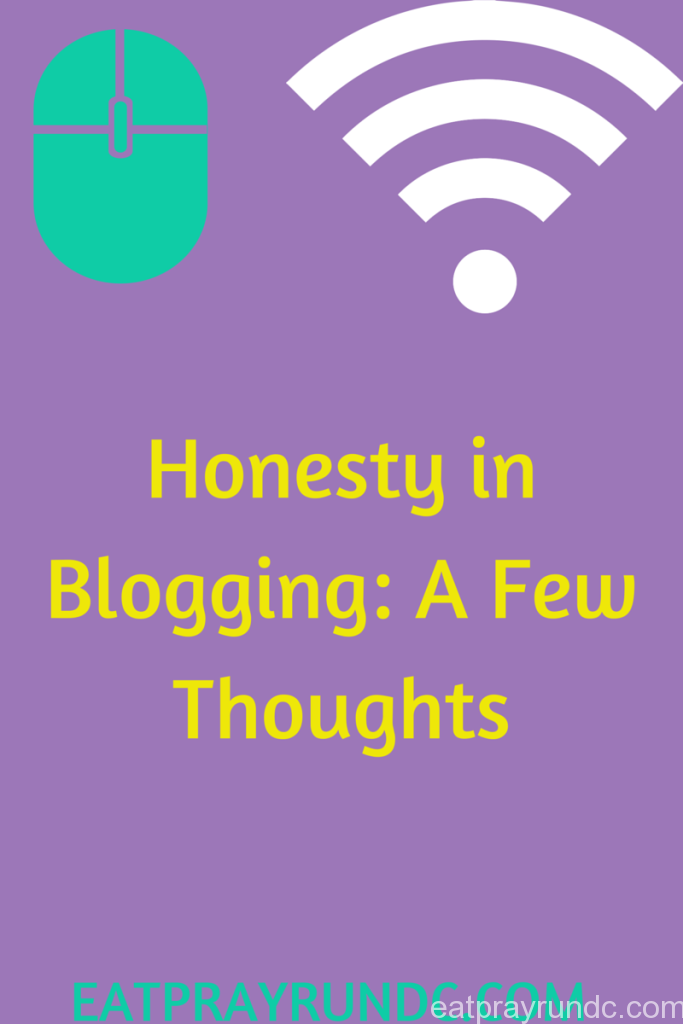 Honesty in Blogging