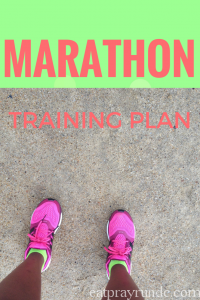 My Marathon Training Plan