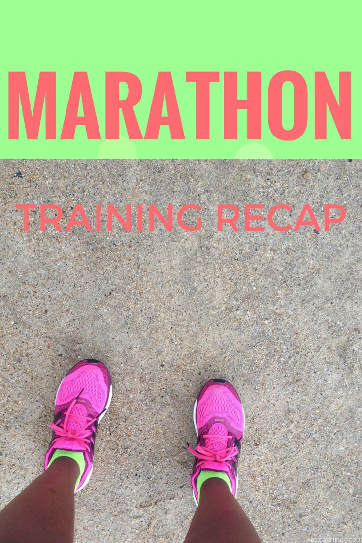 WINEGLASS Marathon Training Recap