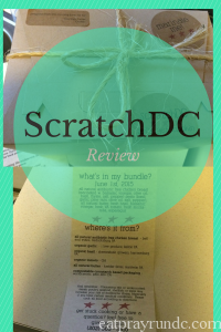 A Review of ScratchDC: Local Meal Delivery in DC