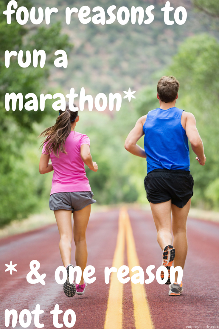 four reasons to run a marathon