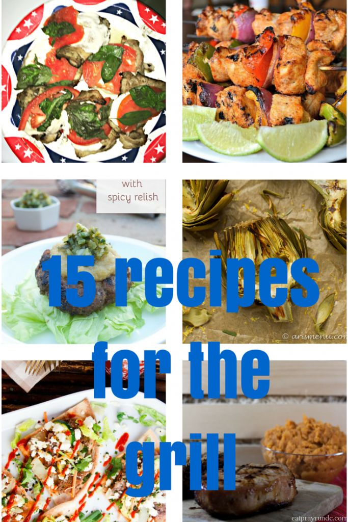 15 recipes for the grill