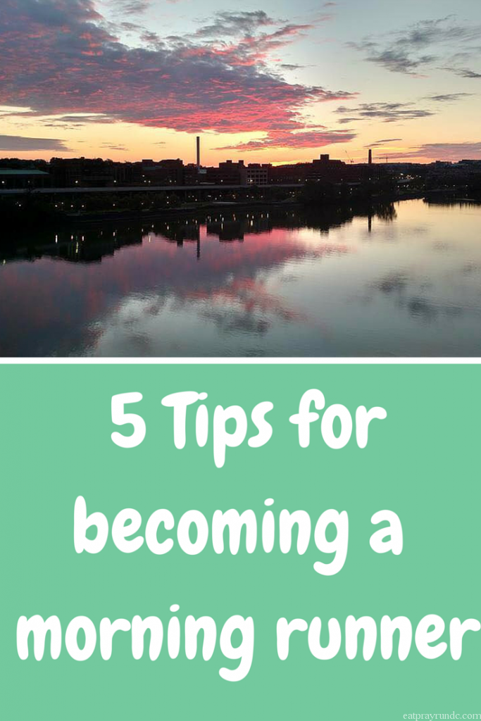 5 Tips for becoming a morning runner