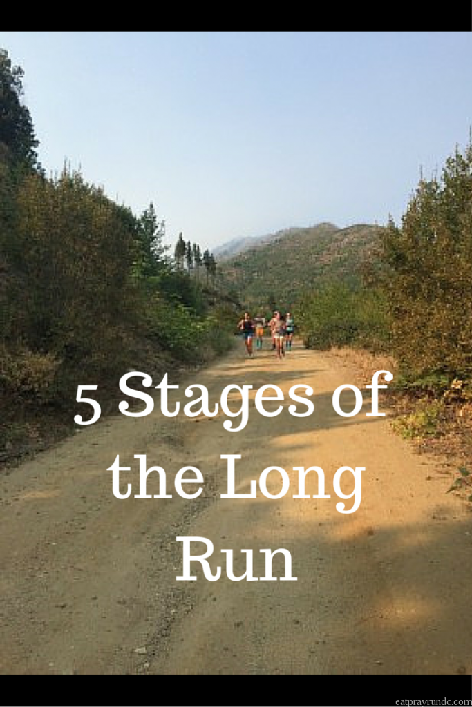 5 Stages of the Long Run