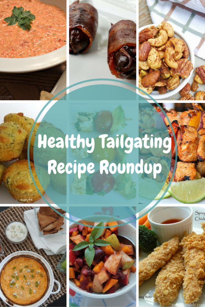Healthy Tailgating Recipe Roundup