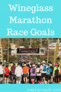 Wineglass Marathon Goals