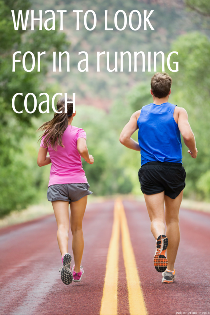 what to look for in a running coach