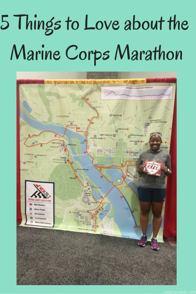 5 Things to Love about the Marine Corps Marathon